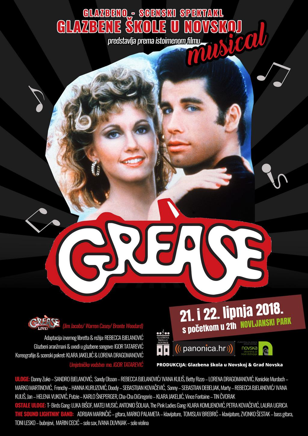 Grease-plakat